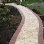 brick-pavers-with-stamped-concrete-walkway-project