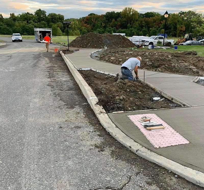 commercial-curb-installation-in-albany