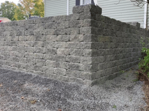 finished-driveway-retaining-wall-installation-in-schenectady