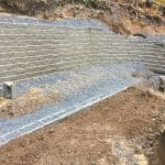retaining-wall-being-installed