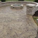 stamped-concrete-around-firepit