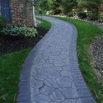 stamped-concrete-walkway-installation