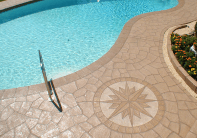 Where Stamped Concrete Can Be Applied