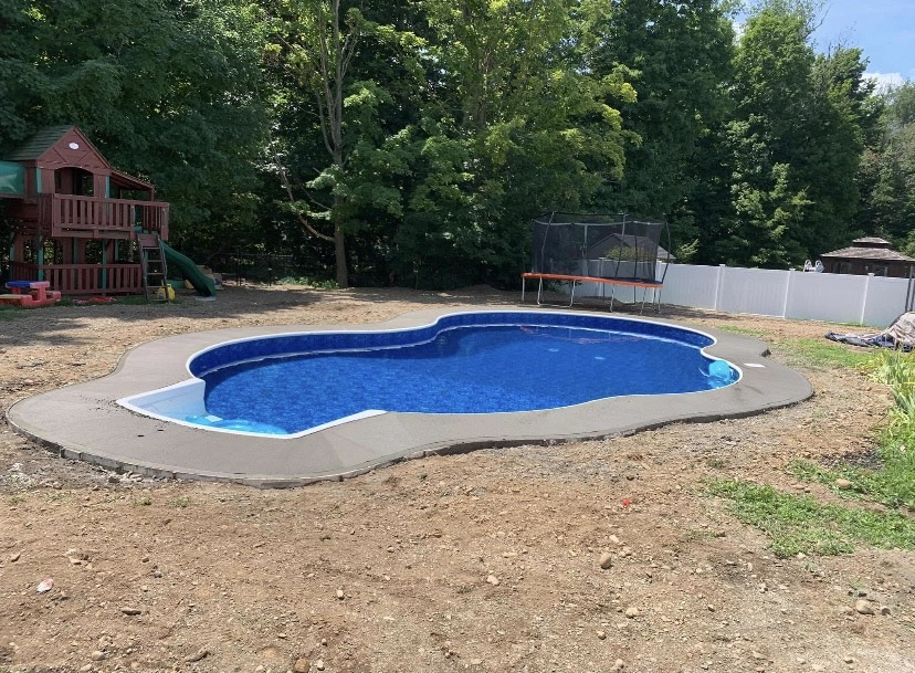 Albany-concrete-hardscaping-project-Broom-finish-pool-deck-2