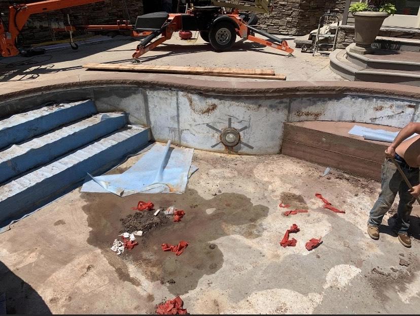 Clifton-Park-hardscaping-project-Versa-Lok-pavers-Belgard-Tile-stamped-concrete-1