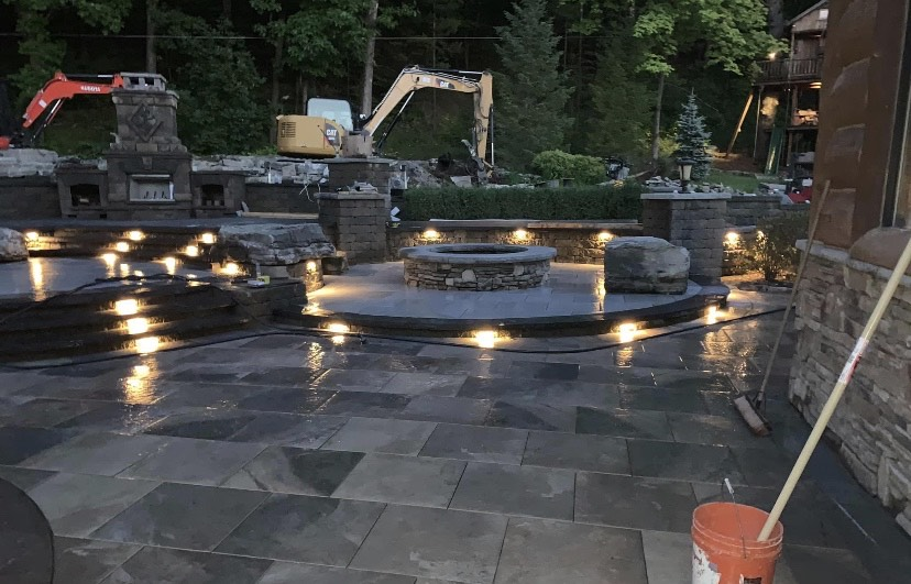 Clifton-Park-hardscaping-project-Versa-Lok-pavers-Belgard-Tile-stamped-concrete-12