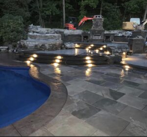 Clifton-Park-hardscaping-project-Versa-Lok-pavers-Belgard-Tile-stamped-concrete-13