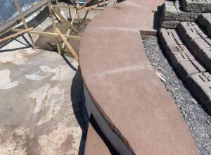 Clifton-Park-hardscaping-project-Versa-Lok-pavers-Belgard-Tile-stamped-concrete-3