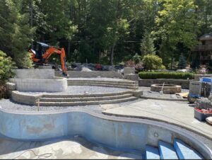 Clifton-Park-hardscaping-project-Versa-Lok-pavers-Belgard-Tile-stamped-concrete-5