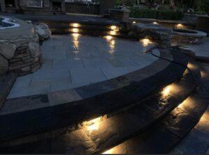 Clifton-Park-hardscaping-project-Versa-Lok-pavers-Belgard-Tile-stamped-concrete-9