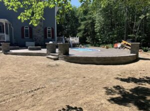 Guilderland-concrete-hardscaping-project-Stamped-concrete-Versa-Lok-1