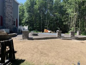 Guilderland-concrete-hardscaping-project-Stamped-concrete-Versa-Lok-2