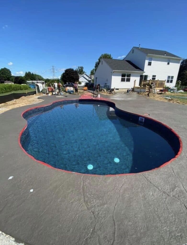 Latham-concrete-hardscaping-project-Heavy-stone-stamped-concrete-2