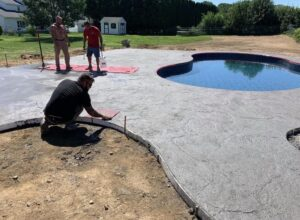 Latham-concrete-hardscaping-project-Heavy-stone-stamped-concrete-4