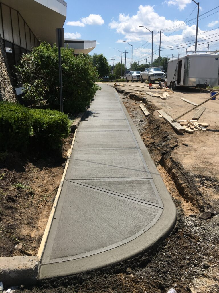 commercial-sidewalk-installed-in-Albany