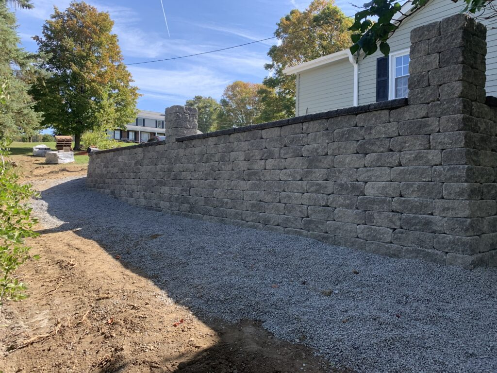large-retaining-wall-installed-in-Albany